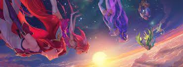 Znalezione obrazy dla zapytania Star Guardian jinx poppy lux janna lulu