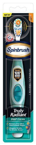 Spinbrush Truly Radiant Toothbrush, Deep Clean Arm & Hammer