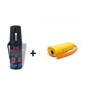 Pack ahuyentador + spray para perros