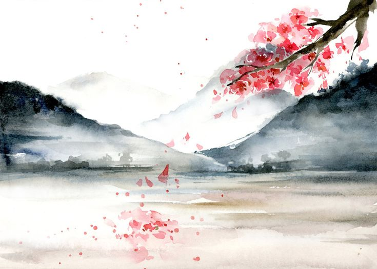 17 Best images about Tranh cổ phong on Pinterest   Watercolors ...