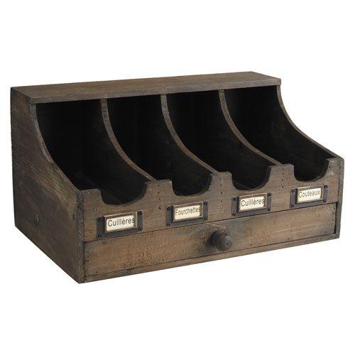 les 25 meilleures id es de la cat gorie range couverts sur pinterest ustensiles de service. Black Bedroom Furniture Sets. Home Design Ideas