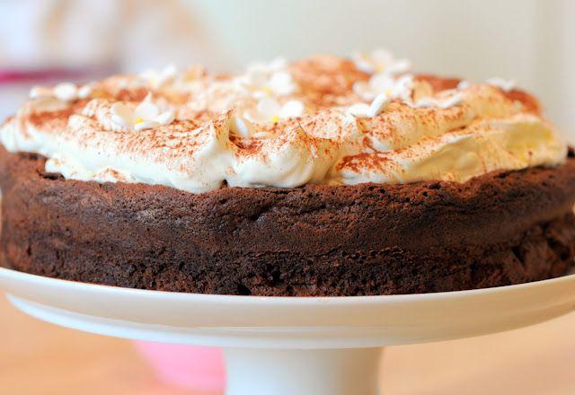 Nigella's Chocolate Cloud Cake - Ren Behan - Author Wild Honey and Rye