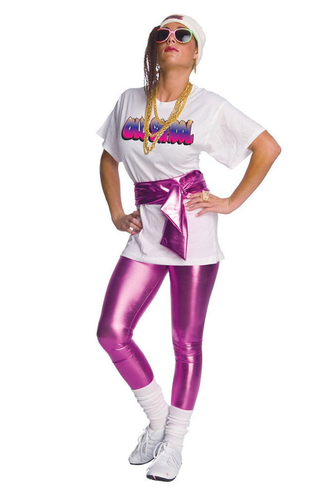 pink lame leggings costume leggins 1980s costume 1990s