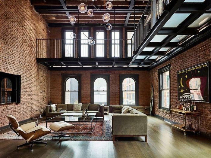 1001 Conseils Pour Reussir La Deco Style Industriel Loft Industriel Architecture Restaurant Deco Style Industriel