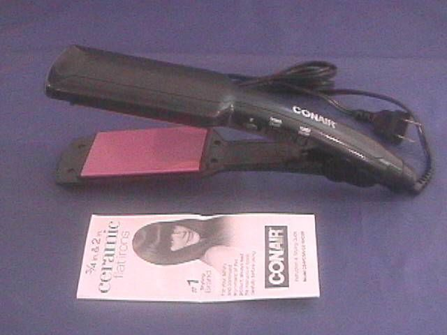 "Conair Instant Heat Dual Voltage Flat Iron 2"" Ceramic Straightener CS19VCSR #Conair"