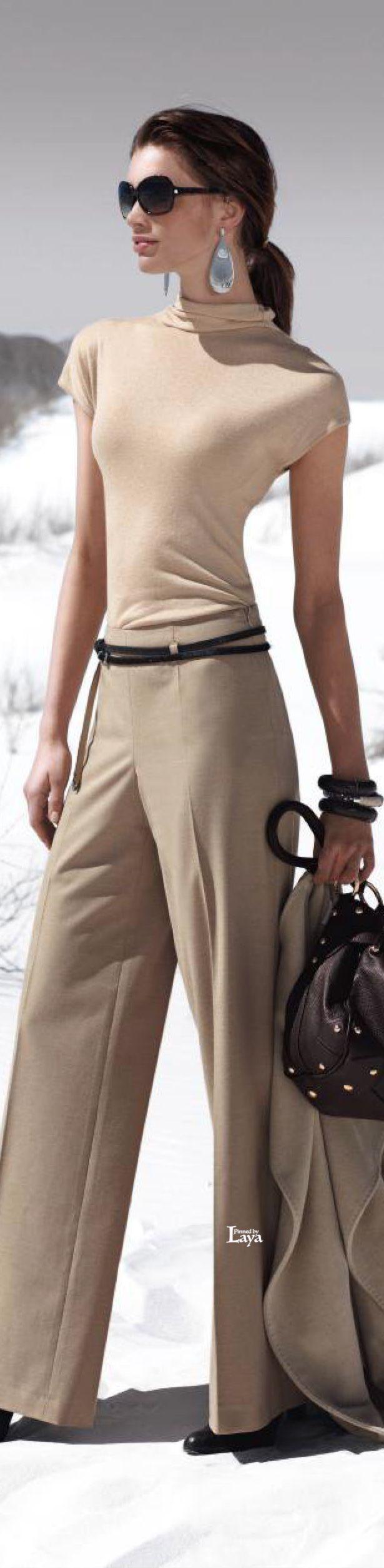 Gorgeous pants via @vanlisana. #pants #Madeleine