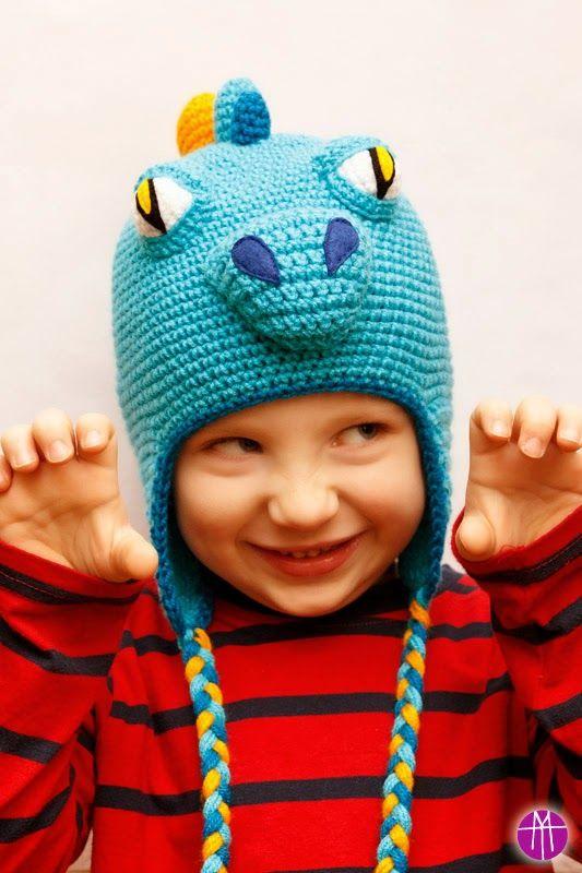 MAMTWORY: Czapka SMOK / DRAGON hat shop: http://mamtwory.pl blog: http://www.100pomyslownaminute.blogspot.com/
