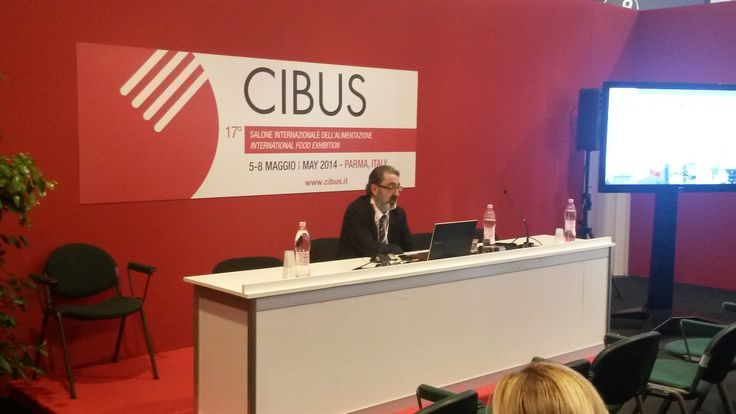 Enrico Perego during the #workshop on #food sector in #ASEAN, at CIBUS Fair 2014