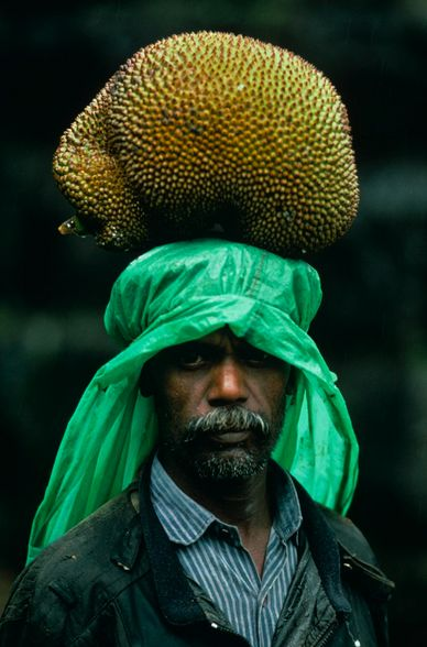 Sri Lanka, Steve McCurryMccurry Man, Face, Jack Fruit, Carrie Jackfruit, Stevemccurry, Steve Mccurry, World, Sri Lanka, People