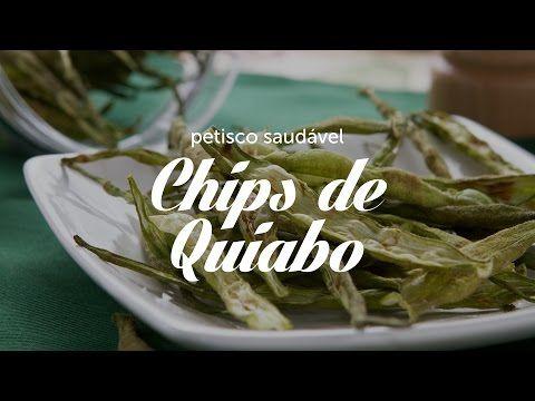 Chips de Quiabo | Dicas de Bem-Estar - Lucilia Diniz - YouTube