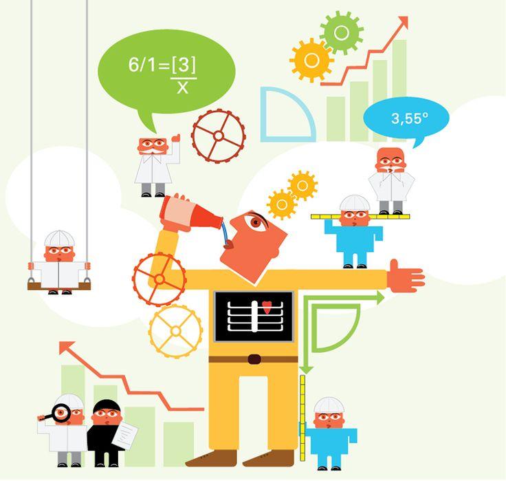 consumidor. Ilustración vectorial