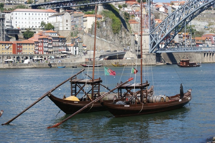 The rabelos boats _ Tradition way of transportation of Port Wine