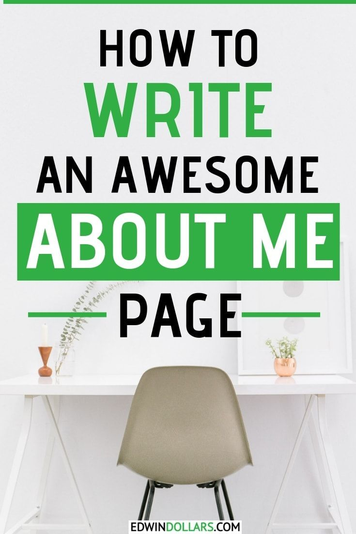 How To Write An About Me Page For A Blog Free Template About Me Page Writing Blog Content Strategy