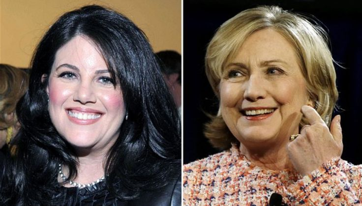 """Hillary Clinton probably thinks the whole sordid ordeal with her """"husband"""" Bill and his intern Monica Lewinsky is over. After all, Bill, who is now subsisting on a vegan diet…"""