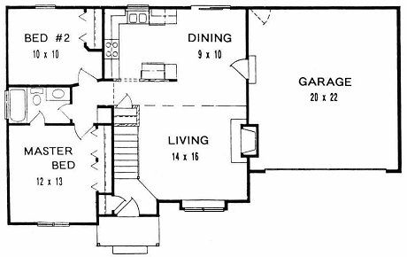 Open Plan Handicap Accessible House Plans Heating House Plans ...