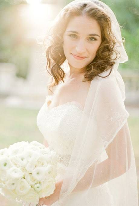 Wedding Hairstyles That Work Well With Veils | Wedding Dresses Style ...