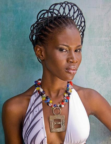 It is all about the African thread styles. Don't forget your heritage.