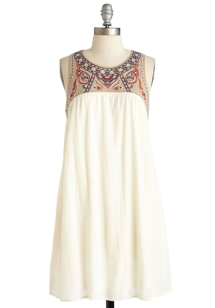 South of the Embroider Dress