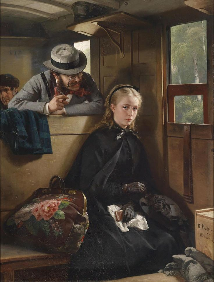The Irritating Gentleman, Berthold Woltze. Germany