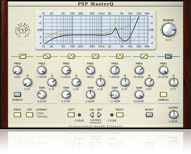 My PSP MasterQ - clean and precise parametric EQ