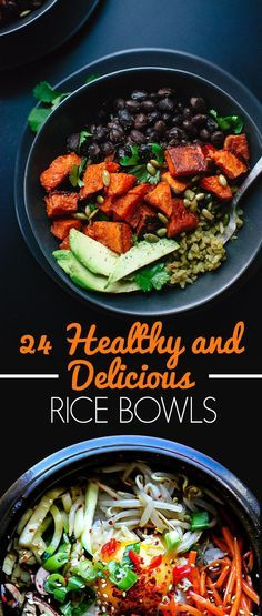 24 Healthy And Delicious Rice Bowls That Are Better Than Chipotle | healthy recipe ideas @xhealthyrecipex |
