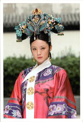 """CHINA - Imperial Concubine Consort Hua in """"Empresses in the Palace"""""""