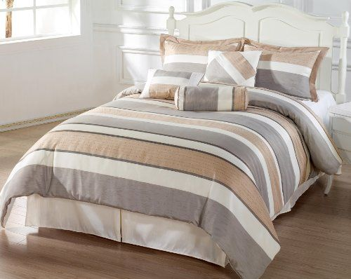 Http Archinetix Com Bachelor 7pc Comforter Set Beige