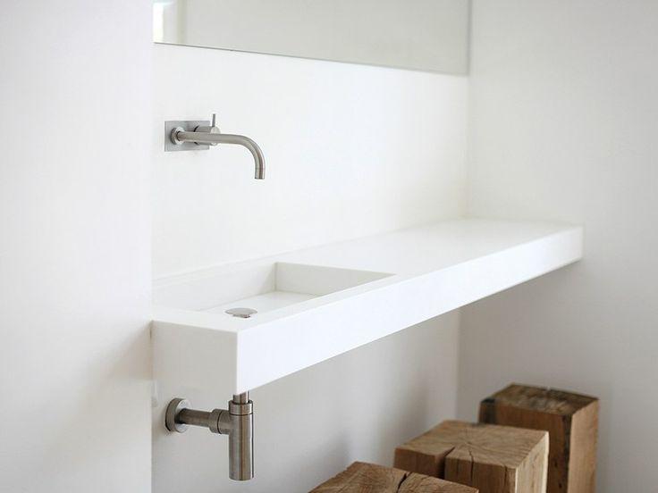 Encimera de lavabo en HI-MACS® FORM | Encimera de lavabo - NotOnlyWhite