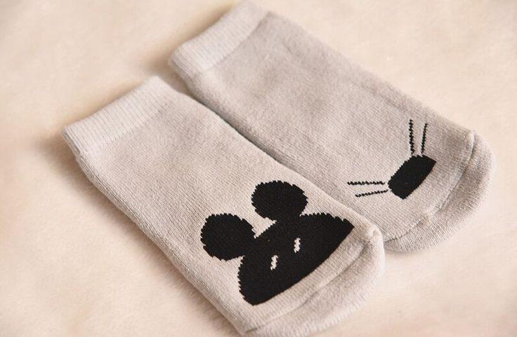 Baby/Toddler Plush No-Skid Socks