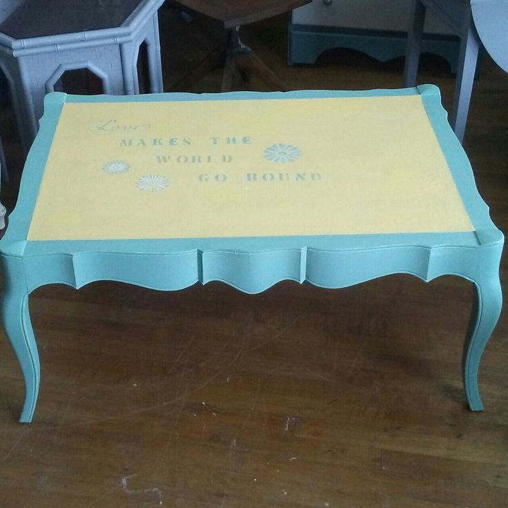 Boho eclectic coffee table for sale at Frugal Fortune in our online Etsy shop. USA