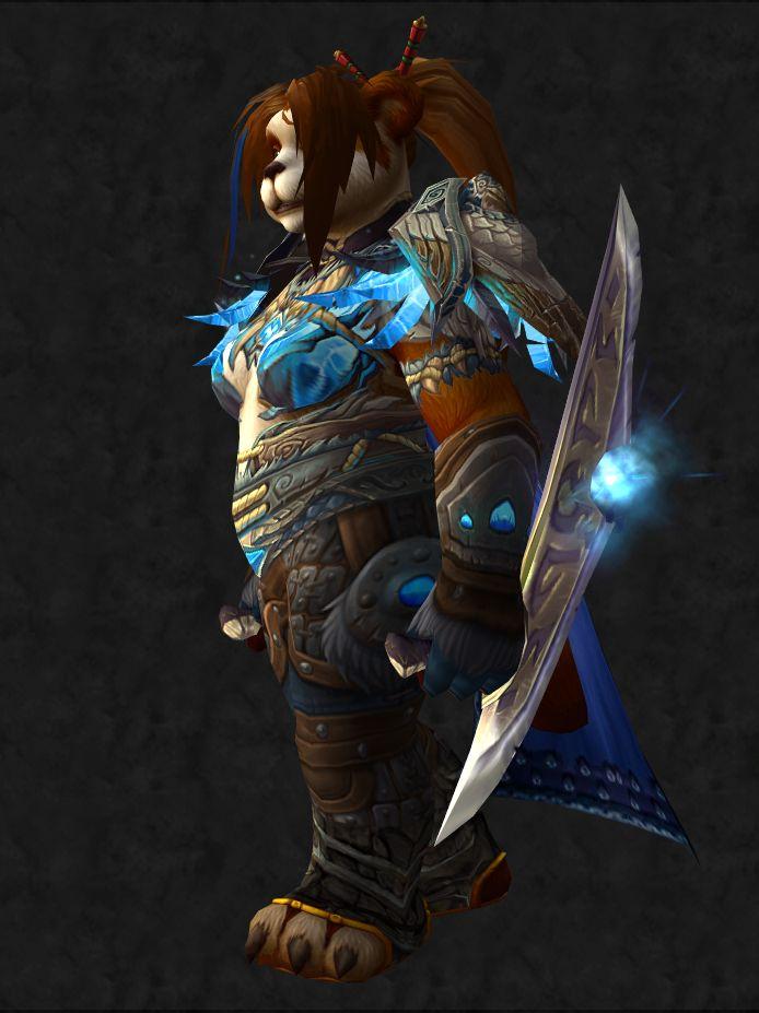Wow fist sword build