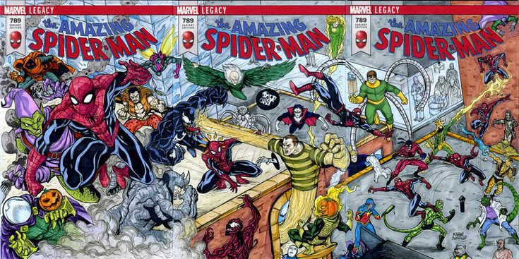 Spiderman 3 sketch cover puzzle commission by mdavidct