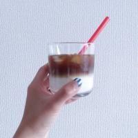 お家でカフェ気分SNSで話題のツートンコーヒーの作り方