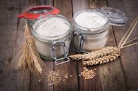 Switching flour types in sourdough starter - Wheat and rye flour and grains