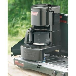 Coffee-Maker-Camping-Outdoor-Portable-Coleman-Propane-Stove-10-Cups-Hiking-NEW