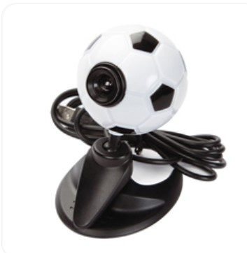 Web Cam (product code: YT-WC005) #soccerball #webcam #gift #resellers #promoproducts #computeraccessories #camera #trend #technology http://www.yatamatechnology.com.au/