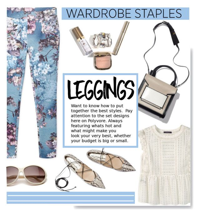 """Wardrobe Staples: Leggings"" by serepunky ❤ liked on Polyvore featuring MANGO, Violeta by Mango, Leggings and WardrobeStaples"