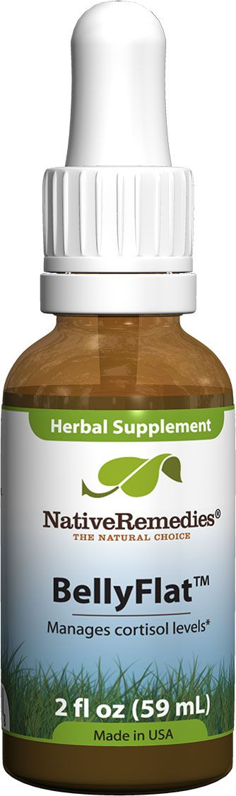 BellyFlat™ - Herbal remedy to support balanced cortisol levels in the body which can help to support healthy weight