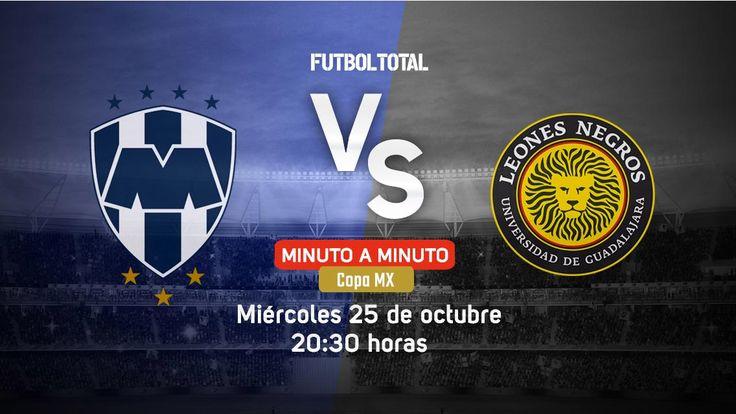 Monterrey vs Leones Negros | Copa MX 2017 | EN VIVO Minuto a minuto - Futbol Total