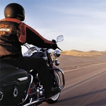 This is your chance to enjoy the open road in style by touring on a prestigious Harley-Davidson motorcycle!