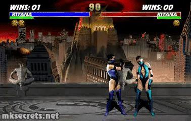 Kitana Fatality I - Ultimate Mortal Kombat 3 (GIF)