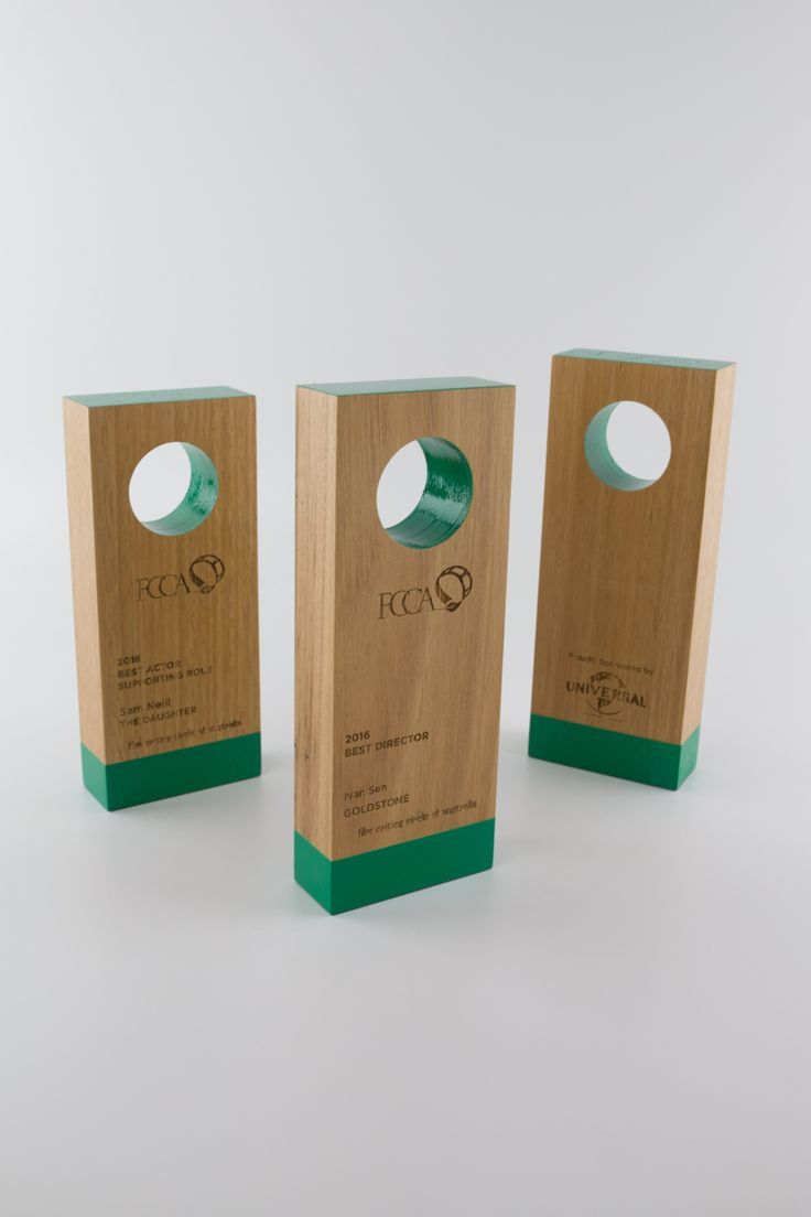 Film Critics Circle of Australia Awards | Sustainable Trophies | Design Awards