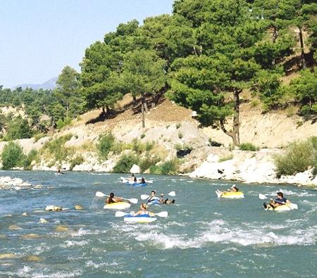 White water rafting in Dalyan