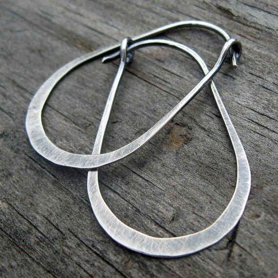Hey, I found this really awesome Etsy listing at https://www.etsy.com/listing/61541444/gunnysack-hoops-oxidized-stelring-silver