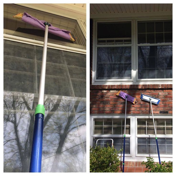 Did you know you can attach your norwex window cloth to the mop system for hard to reach windows? Amazing