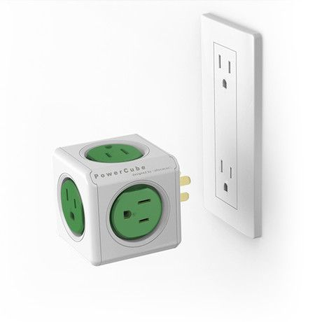 Do you have the issue of bulky plugs in your little home? PowerCube Original to the rescue. | Tiny Homes