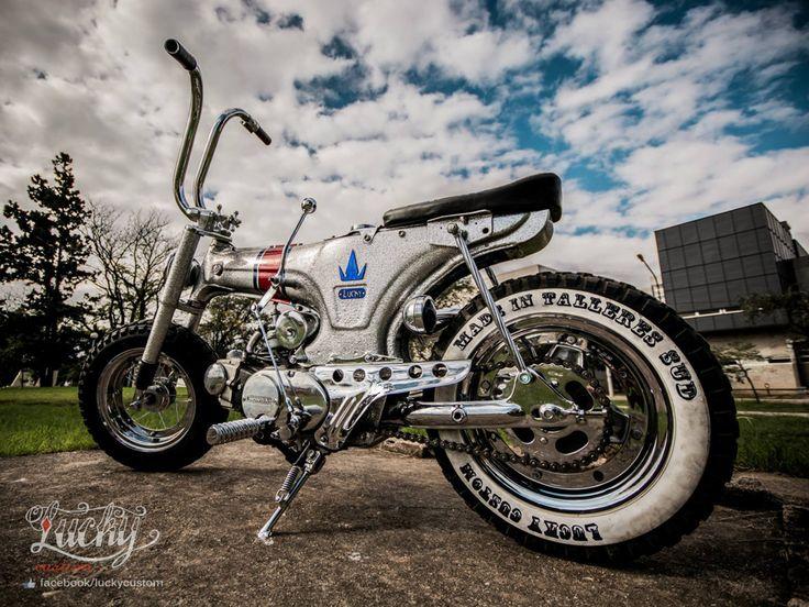 "Honda Dax ""De Lujo"" by Lucky Custom Cordoba - mini4temps.fr"
