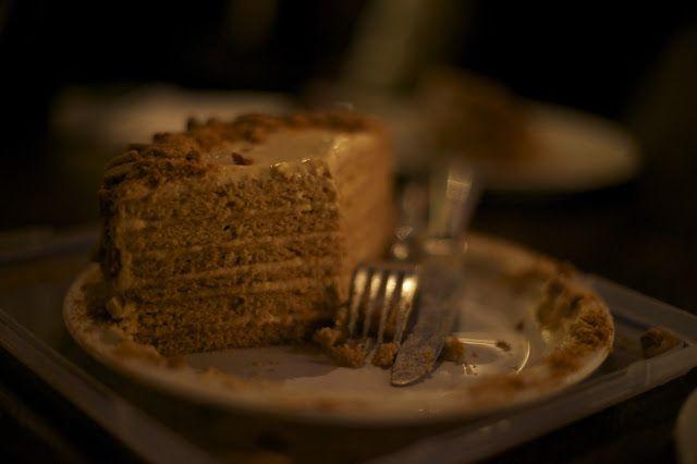 Russian Honey Layered Cake - Medovik