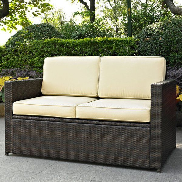 You'll love the Crosson Loveseat with Cushion at Wayfair - Great Deals on all Outdoor products with Free Shipping on most stuff, even the big stuff.