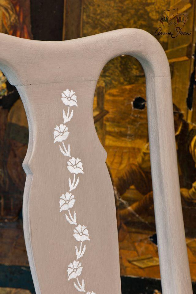 Annie Sloan stencils Flower string